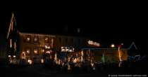Funtastic Christmas Time in Germany into the Odenwald. Christmas House in Germany in the Odenwald. Yes America, Germany doesnt sleep, here is Christmas-Time too with light an love.