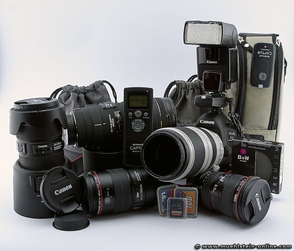 Canon EOS Equipment